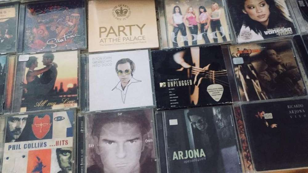 Lote de CD originales