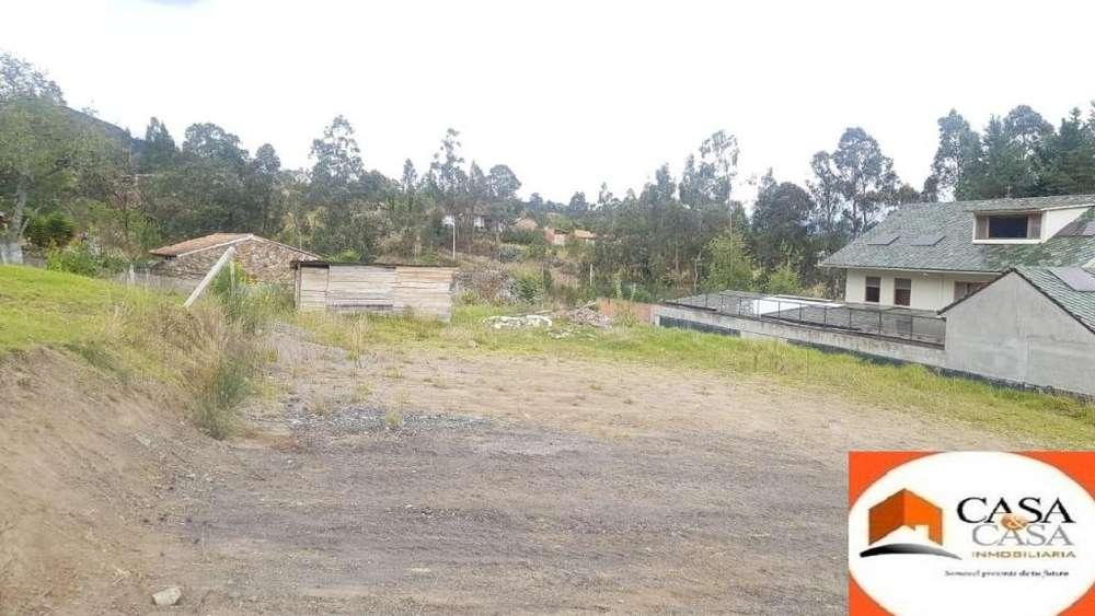 Se vende un terreno en Challuabamba