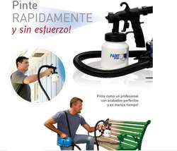 Paint Zoom TV Compresor de Todo Tipo de Pinturas, Con Accesorios, Nuevos, Originales, Garantizados