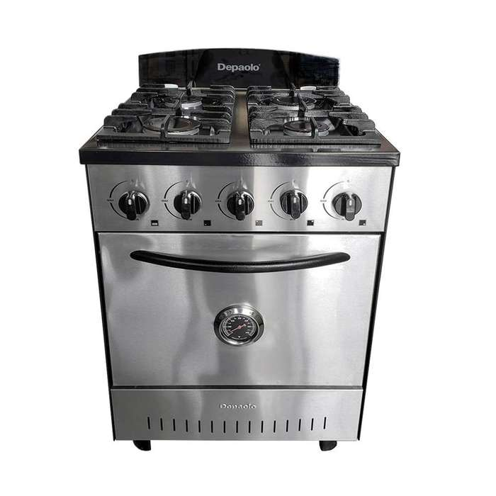Cocina Industrial 57 Cm 4 Hornallas Horno Pizzero Depaolo Acero Inox Nuevas Super Oferta!!! ultimas!