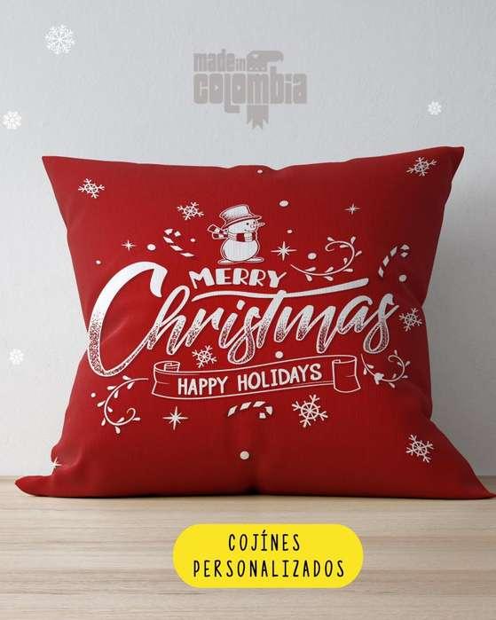 Cojines Personalizados Navidad y año nuevo!