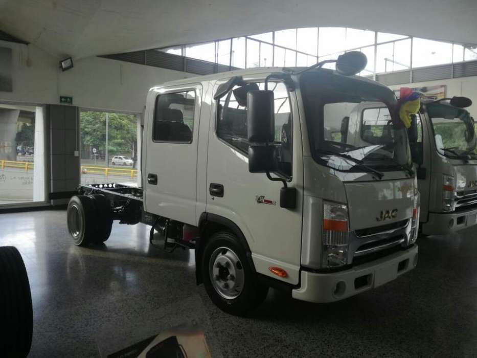 Camion Jac Doblecabina Diesel Turbo 2020