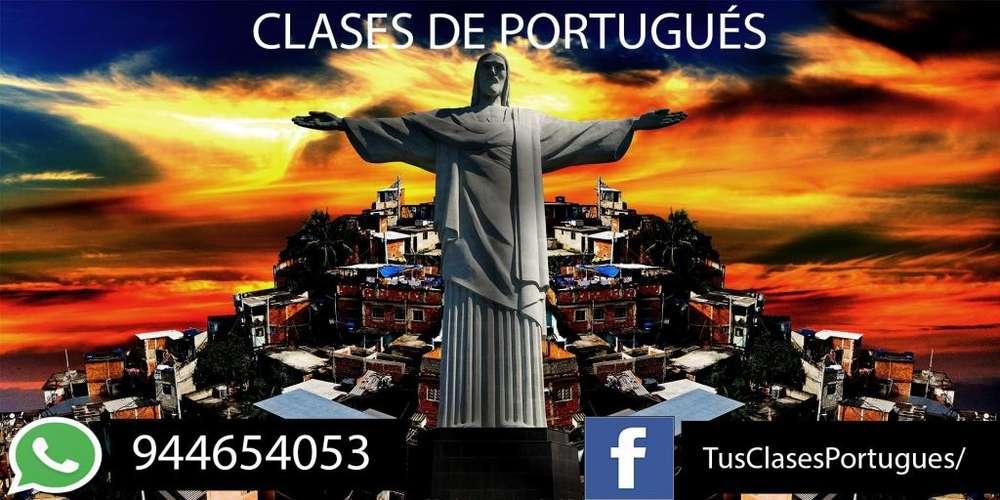 CLASES DE PORTUGUÉS VIRTUALES PARA TODOS - TACNA -944654053