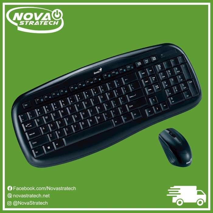 Combo Genius Mouse/teclado Inalambrico KB800x Gratis Envio A todo el Pais de Promocion economico Windows/Mac
