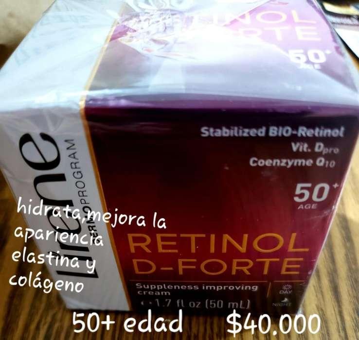 Crema Retinol 50 Edad Hidratante