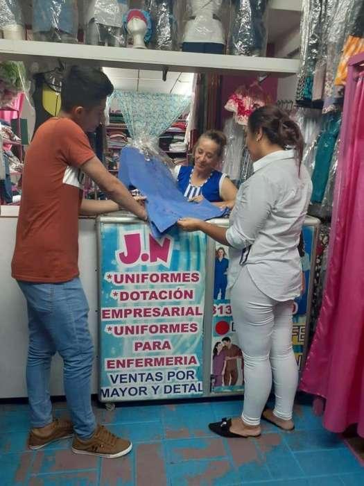 vendo <strong>negocio</strong> acreditado ventas certificadas- almacen de ropa uniformes
