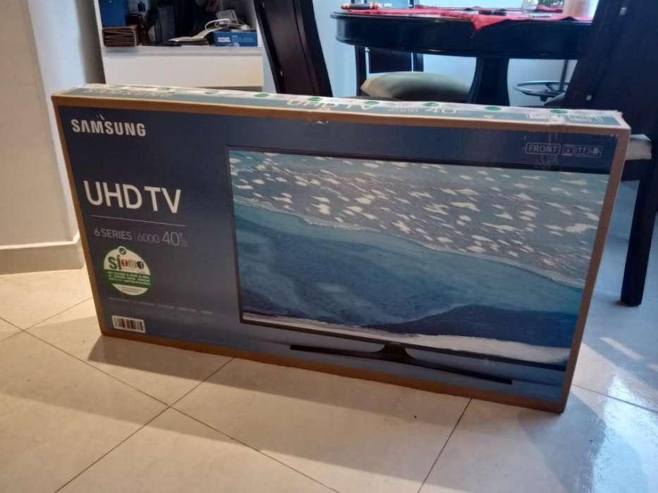 <strong>televisor</strong> Samsung 4k de 40 Pulgadas