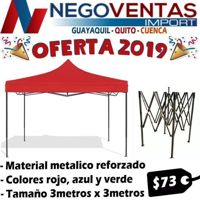 CARPA IMPERMEABLE DE 3X3 DE OFERTA