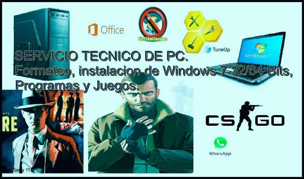 Tecnico de Pc- Caba Y Alrededores.