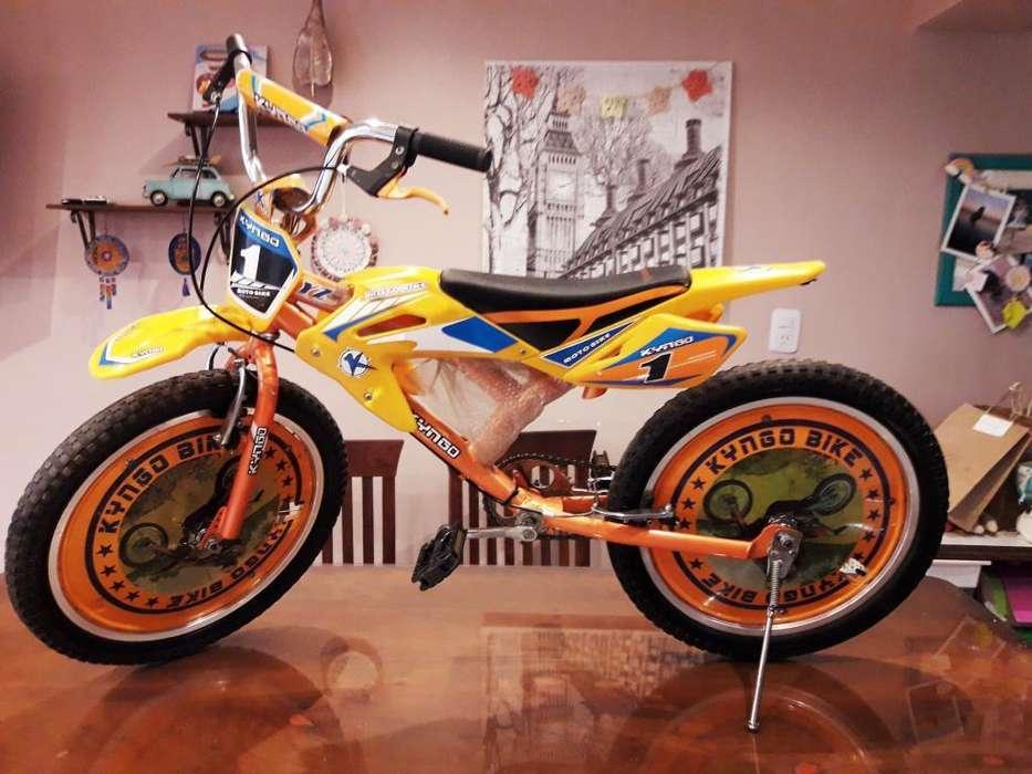 Bici-moto Bmx Rodado 20 Marca Kyngo