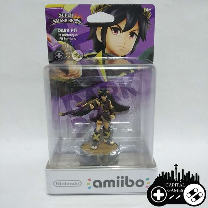 Dark Pit Super Smash Bros amiibo