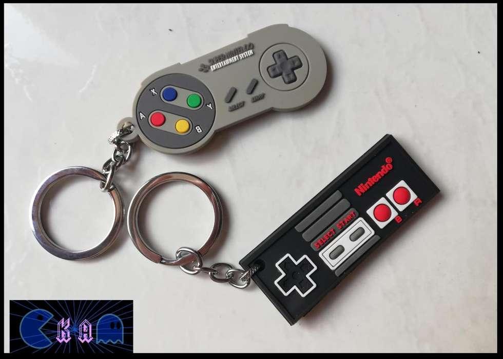 Llaveros Control (negro Nintendo nes – Super Nintendo)