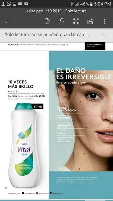 Shampoo Vital 1 Litro