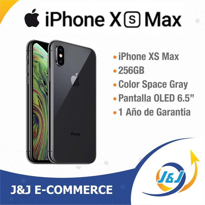 ** Nuevo Sellado iPhone Xs Max 256GB Space Gray Black Negro Estrenar 256 GB ESTRENAR 1 Año GARANTIA APPLE **