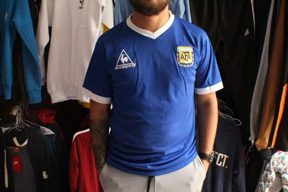 Camiseta Retro Argentina