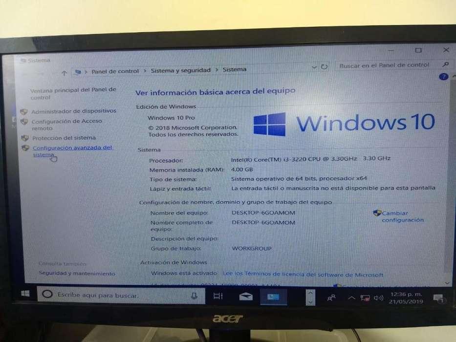 Computador de mesa combo completo core i3 Dell empresarial