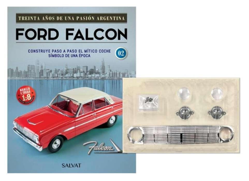 Ford Falcon para Armar-editorial Salvat