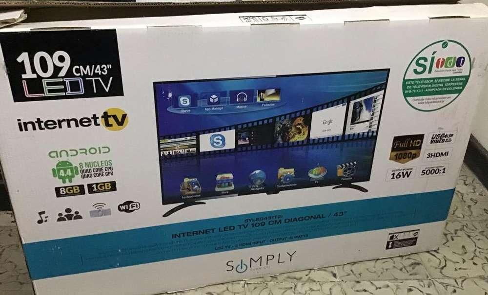 Tv Simply 43 Pulgadas