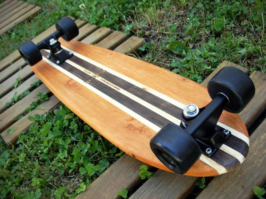 Vintage skateboard minilong Tribal Style