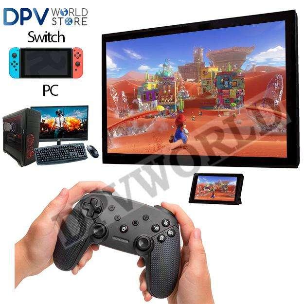 Control Nintendo Switch Pro Controller Inalambrico Ergonomico compatible para pc