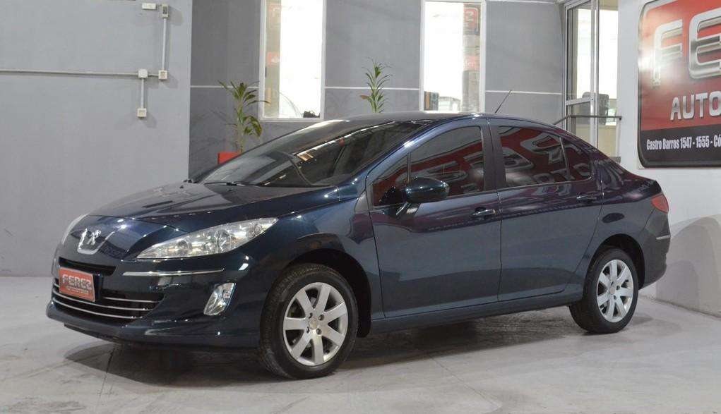Peugeot 408 allure nav hdi 2013 4 puertas color azul