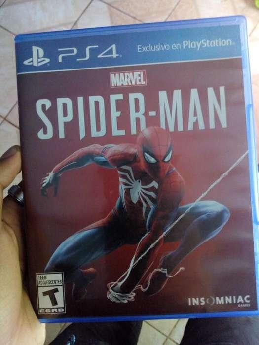 Juego Ps4 Spiderman Com Codigo