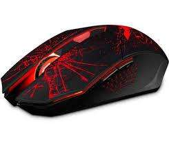 Mouse Gamer Hvms 700 2400 Dpi 6 Botones Ergònomico