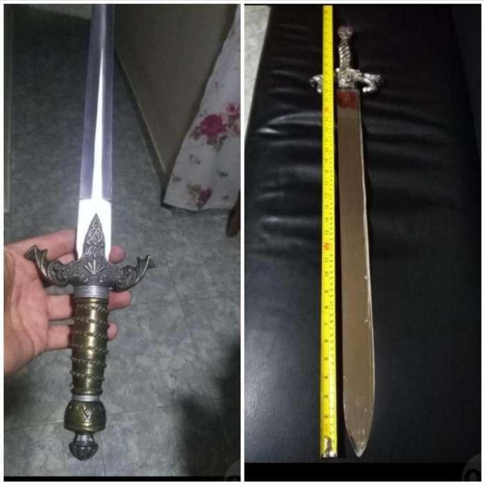 Daga Y Espada Antigua Económica