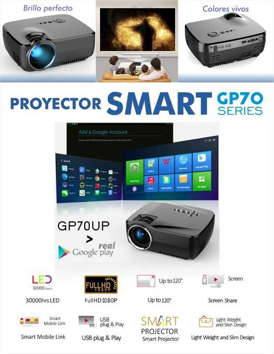 Proyector Smart con Android