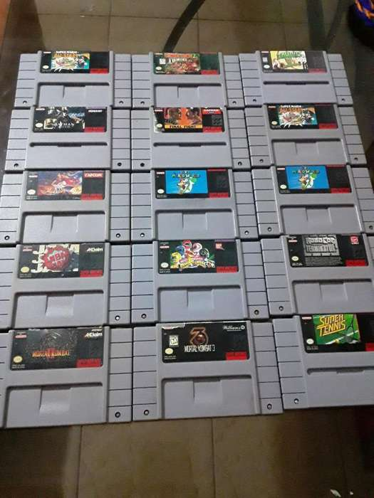 Súper Nintendo Juego Originales Snes N64