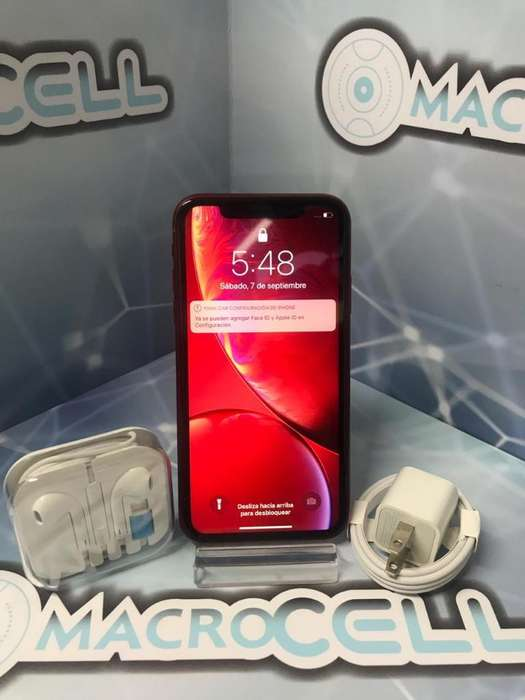 Vencambio iPhone Xr 64gb, Color Rojo
