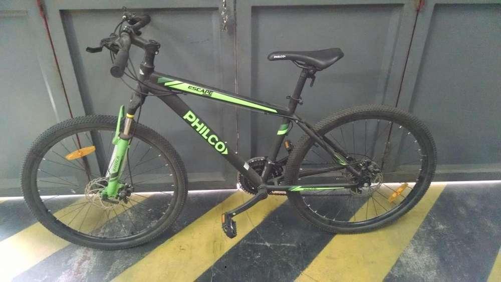 Vendo bicicleta nueva philco mountain bike R26