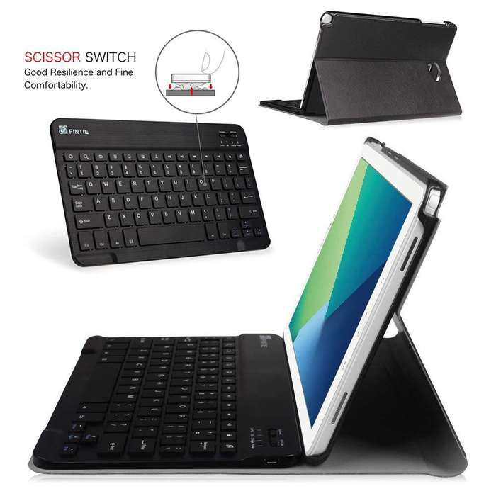 Teclado para Galaxy Tab a 10.1 spen Fintie Keyboard Cove, Tienda