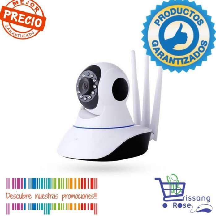Camara Robótica Wifi Vigilancia 3 Antena