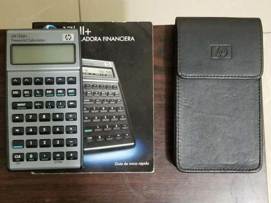 Vendo <strong>calculadora</strong> Financiera Hp 17bii