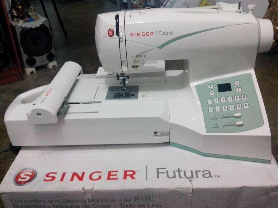 Maquina De Coser Y Bordadora Singer Futura Ce-250