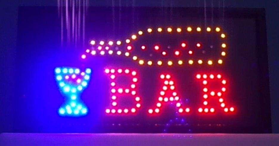 Cartel de LED de BAR