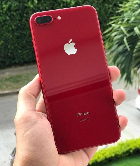 iPhone 8 Plus 64gb Rojo, Edicion especial, 10 de 10 !! Supeeer precio !!