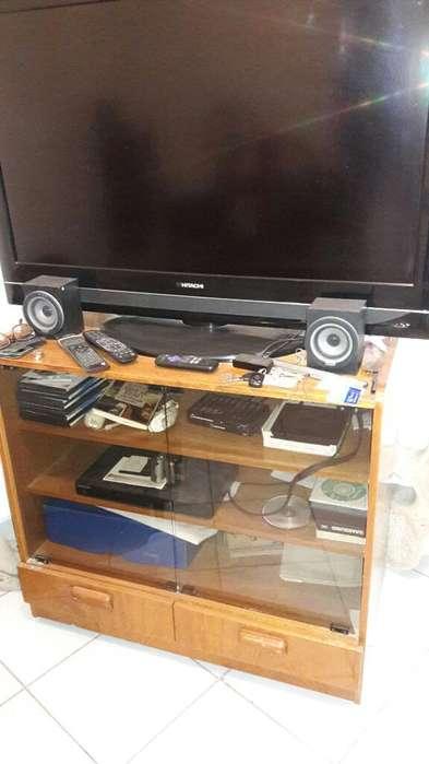 Mueble Tv Enchapado en Roble, Urgente