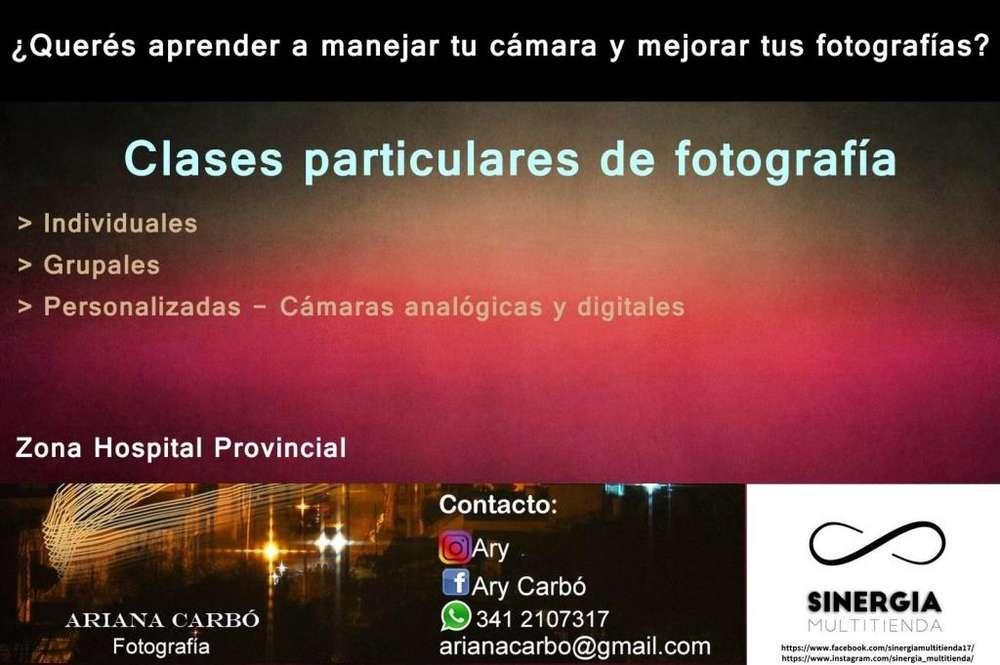 Clases particulares de fotografía grupales o individuales
