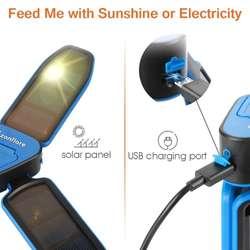 Lampara Solar Recargable Para Acampar