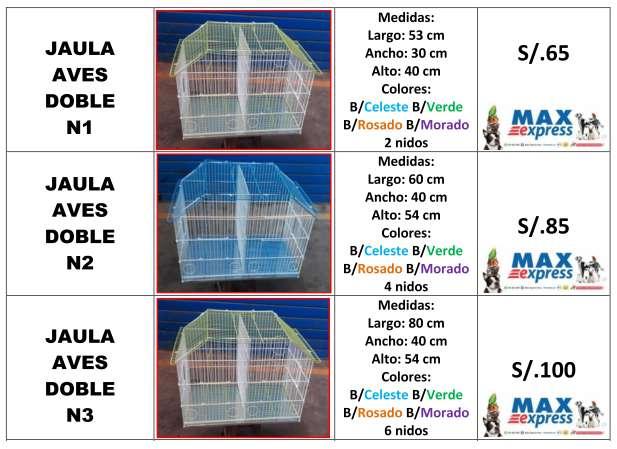 Jaulas con DIVISION ideal para REPRODUCION Canario Agapornis Periquitos Paloma Envios