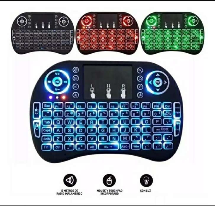Mini Teclado Inalámbrico Airmouse