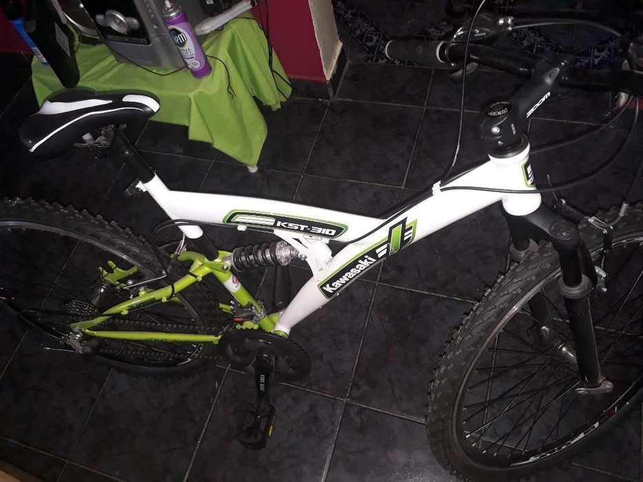 Bici Kawasaki con Cambios Nueva