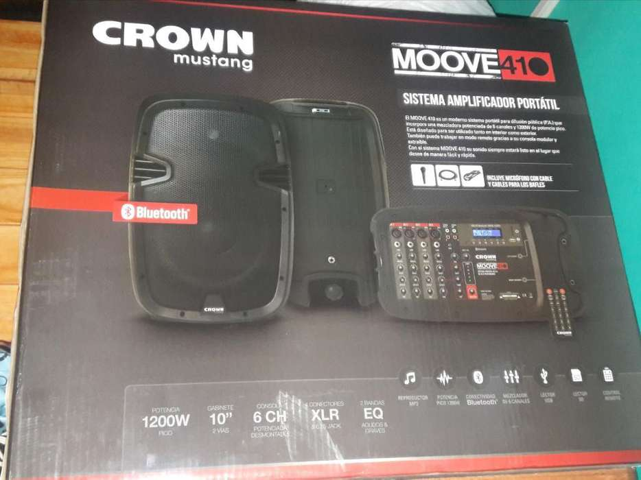 Sonido Portatil Crown