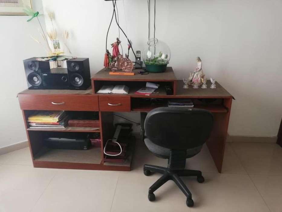 <strong>escritorio</strong> CON SILLA GIRATORIA