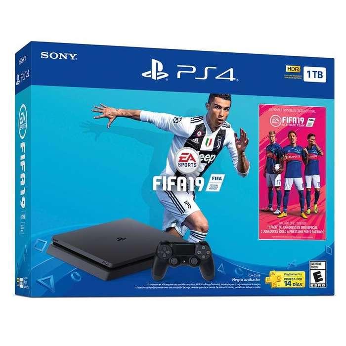 PS4 1TERA DOS CONTROLES FIFA 2019