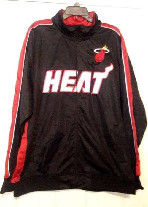 CAMPERAS ORIGINALES DE LOS MIAMI HEAT BASKET