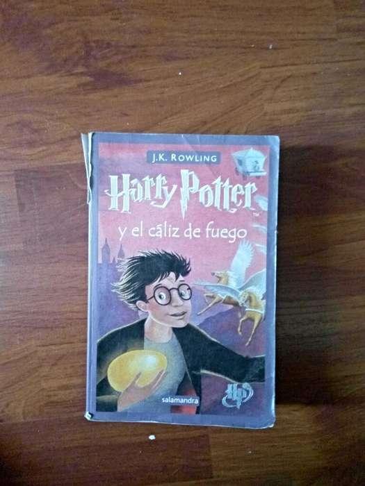 Libro harry Potter Y El Caliz de Fuego