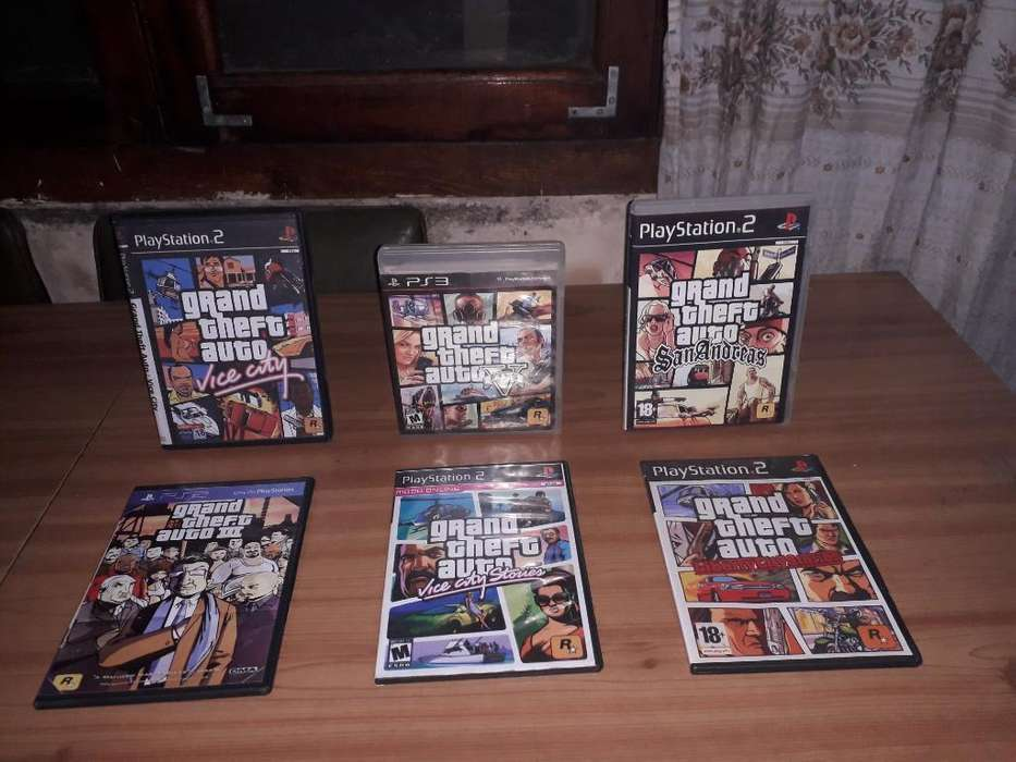 Juegos de Grand Theft Auto Ps3-ps2